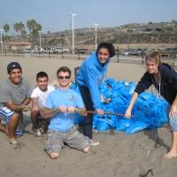 Beach Clean-up November 16, 2007