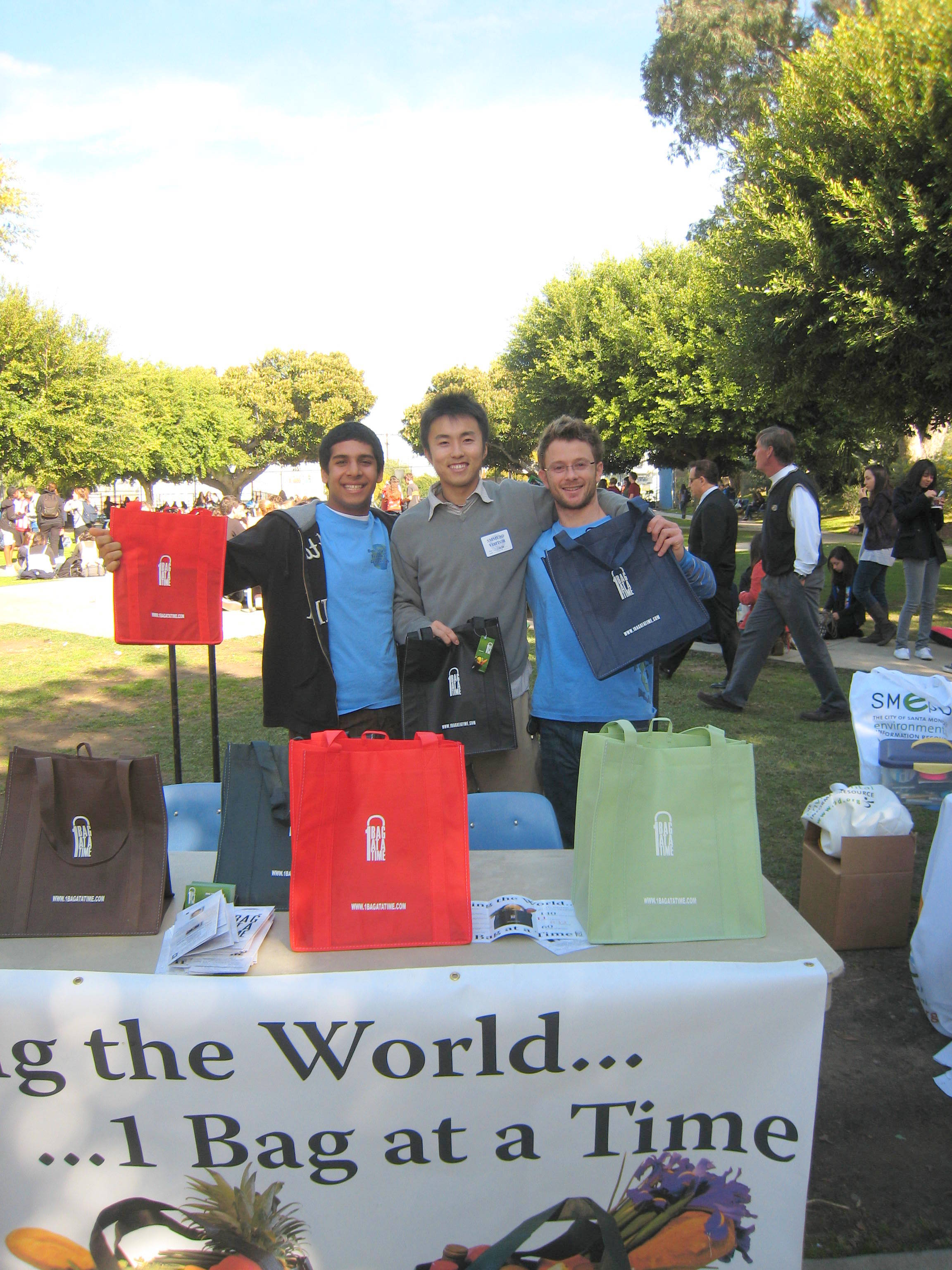 Team Marine with Sho Takahashi for 1 Bag At A Time