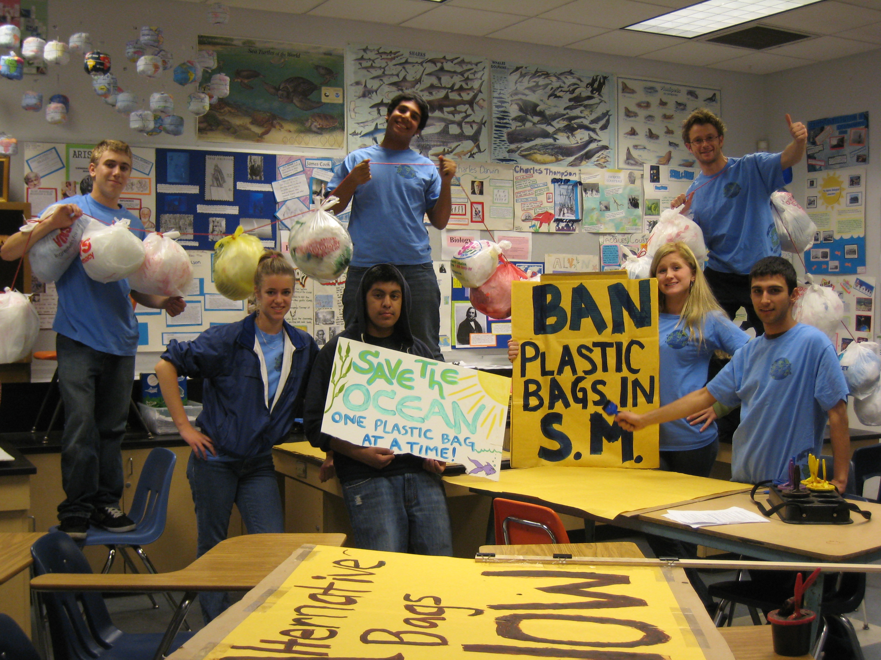 Ban the palstic bag march