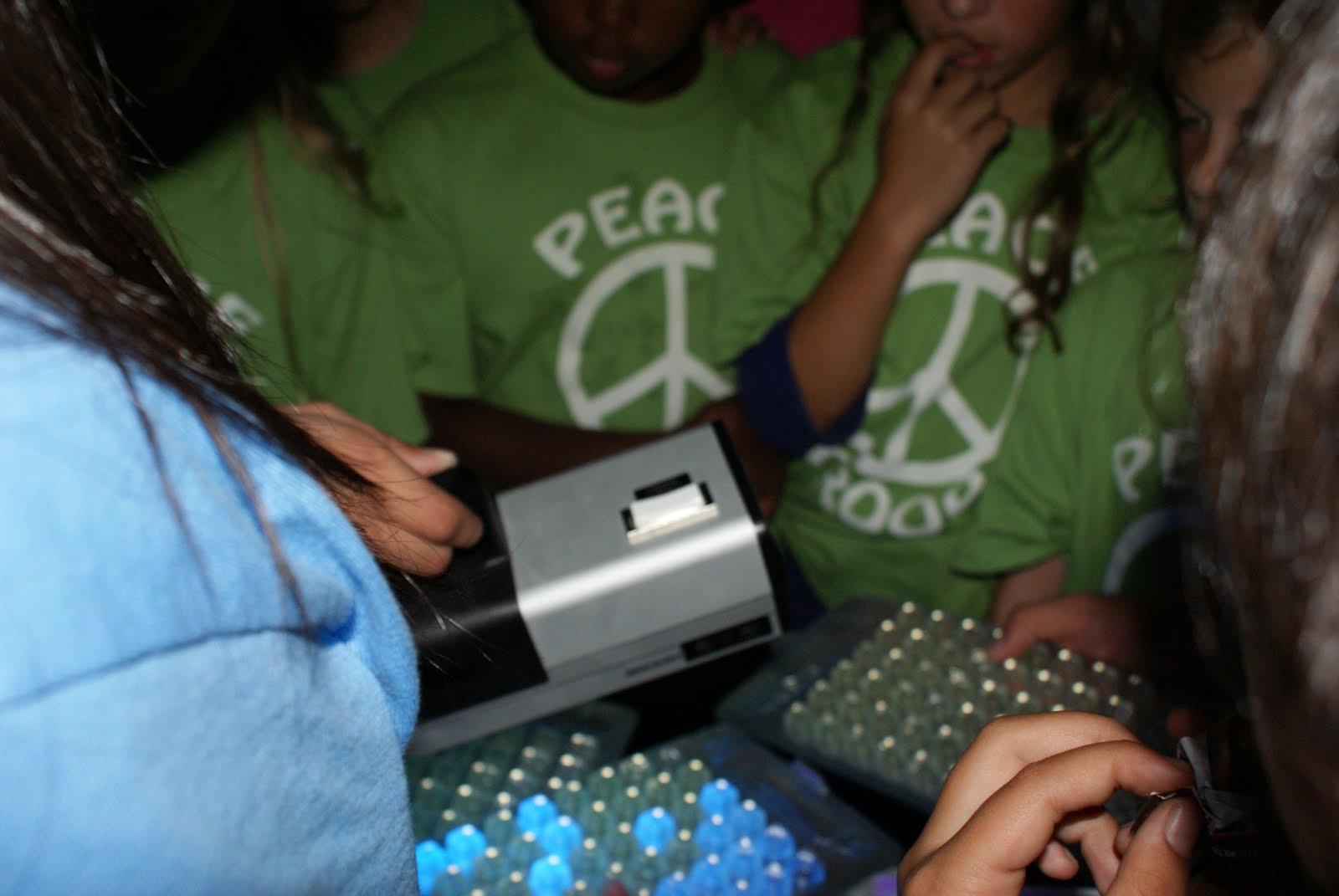 Teach and Test Peace Troop Presentation