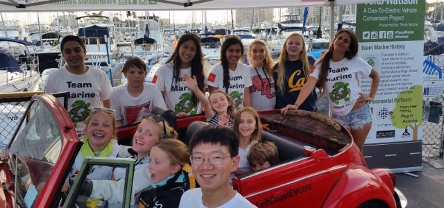 On the 25th of July 2014, we, Team Marine, met in Marina Del Rey in order to attend the Sailing through STEM night, where we showcased both our 1971 electric […]