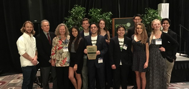 "On November fifth Team Marine received the leadership award for ""Student Engagement"" from the Green California Schools and Community Colleges. Nine members represented the Team at the Pasadena Convention […]"