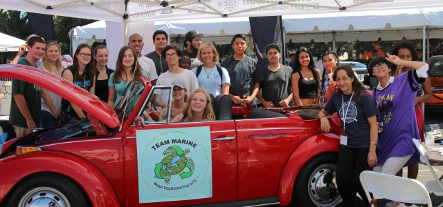 On Saturday Sept. 20th Team Marine and Marine Bio/Environmental Science students, left the Heal the Bay Coastal Cleanup Day and ran straight to the Santa Monica Civic Center to show […]