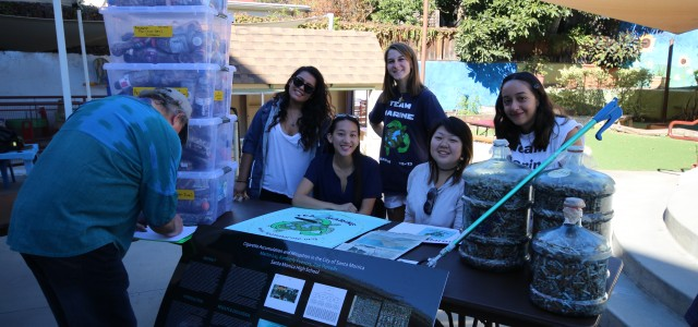 On Sunday November 22, 2015, Team Marine attended What a way to go – Bike, Bus, Expo! sponsored by Climate Action Santa Monica. We showcased our cigarette research and […]